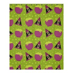 Hat Formula Purple Green Polka Dots Shower Curtain 60  X 72  (medium)  by Alisyart