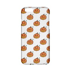 Face Mask Ghost Halloween Pumpkin Pattern Apple Iphone 6/6s Hardshell Case by Alisyart