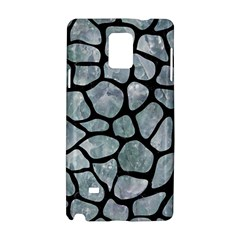 Skin1 Black Marble & Ice Crystals (r) Samsung Galaxy Note 4 Hardshell Case by trendistuff