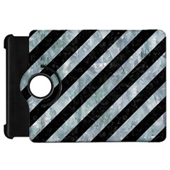 Stripes3 Black Marble & Ice Crystals (r) Kindle Fire Hd 7  by trendistuff