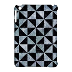 Triangle1 Black Marble & Ice Crystals Apple Ipad Mini Hardshell Case (compatible With Smart Cover) by trendistuff