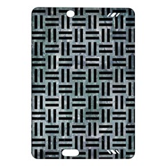Woven1 Black Marble & Ice Crystals Amazon Kindle Fire Hd (2013) Hardshell Case by trendistuff