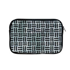 Woven1 Black Marble & Ice Crystals Apple Macbook Pro 13  Zipper Case by trendistuff