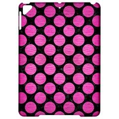 Circles2 Black Marble & Pink Brushed Metal (r) Apple Ipad Pro 9 7   Hardshell Case by trendistuff