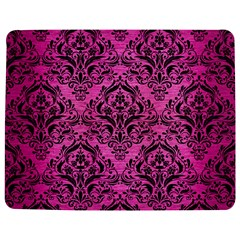 Damask1 Black Marble & Pink Brushed Metal Jigsaw Puzzle Photo Stand (rectangular) by trendistuff