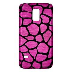 Skin1 Black Marble & Pink Brushed Metal (r) Galaxy S5 Mini by trendistuff