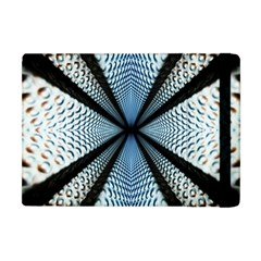 6th Dimension Metal Abstract Obtained Through Mirroring Apple Ipad Mini Flip Case by Celenk