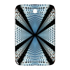 6th Dimension Metal Abstract Obtained Through Mirroring Samsung Galaxy Note 8 0 N5100 Hardshell Case