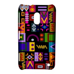 Abstract A Colorful Modern Illustration Nokia Lumia 620