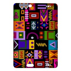 Abstract A Colorful Modern Illustration Amazon Kindle Fire Hd (2013) Hardshell Case by Celenk