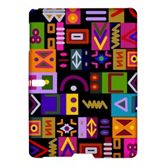 Abstract A Colorful Modern Illustration Samsung Galaxy Tab S (10 5 ) Hardshell Case