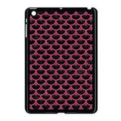 Scales3 Black Marble & Pink Denim (r) Apple Ipad Mini Case (black) by trendistuff