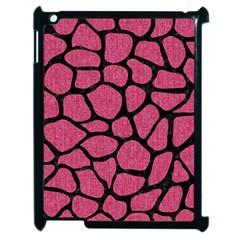 Skin1 Black Marble & Pink Denim (r) Apple Ipad 2 Case (black) by trendistuff