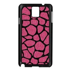 Skin1 Black Marble & Pink Denim (r) Samsung Galaxy Note 3 N9005 Case (black) by trendistuff