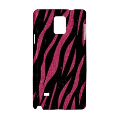 Skin3 Black Marble & Pink Denim (r) Samsung Galaxy Note 4 Hardshell Case by trendistuff