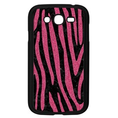 Skin4 Black Marble & Pink Denim Samsung Galaxy Grand Duos I9082 Case (black) by trendistuff