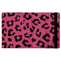 Skin5 Black Marble & Pink Denim (r) Apple Ipad 3/4 Flip Case by trendistuff