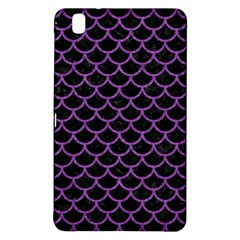 Scales1 Black Marble & Purple Denim (r) Samsung Galaxy Tab Pro 8 4 Hardshell Case by trendistuff