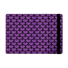 Scales3 Black Marble & Purple Denim Ipad Mini 2 Flip Cases by trendistuff