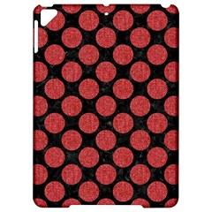Circles2 Black Marble & Red Denim (r) Apple Ipad Pro 9 7   Hardshell Case by trendistuff