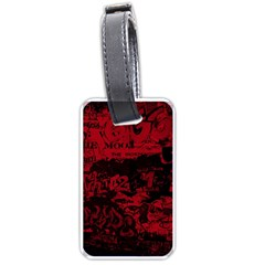 Graffiti Luggage Tags (one Side)  by ValentinaDesign
