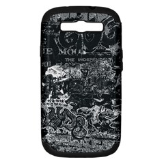 Graffiti Samsung Galaxy S Iii Hardshell Case (pc+silicone) by ValentinaDesign