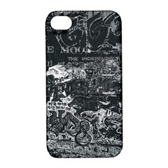 Graffiti Apple Iphone 4/4s Hardshell Case With Stand by ValentinaDesign