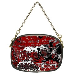 Graffiti Chain Purses (two Sides)  by ValentinaDesign