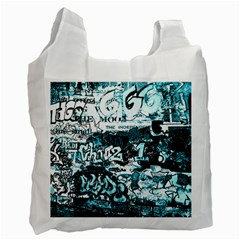 Graffiti Recycle Bag (one Side) by ValentinaDesign