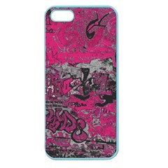 Graffiti Apple Seamless Iphone 5 Case (color) by ValentinaDesign
