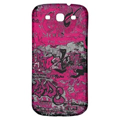 Graffiti Samsung Galaxy S3 S Iii Classic Hardshell Back Case by ValentinaDesign