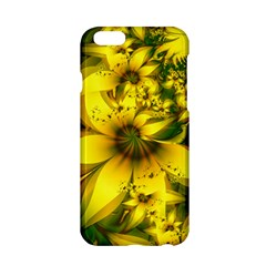 Beautiful Yellow Green Meadow Of Daffodil Flowers Apple Iphone 6/6s Hardshell Case by beautifulfractals