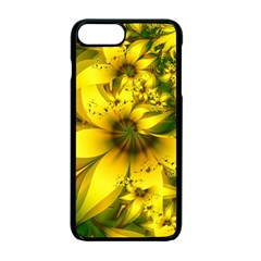 Beautiful Yellow Green Meadow Of Daffodil Flowers Apple Iphone 7 Plus Seamless Case (black) by beautifulfractals