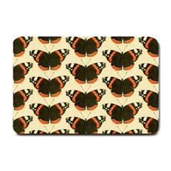 Butterfly Butterflies Insects Small Doormat  by Celenk