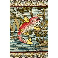Fish Underwater Cubism Mosaic 5 5  X 8 5  Notebooks by Celenk