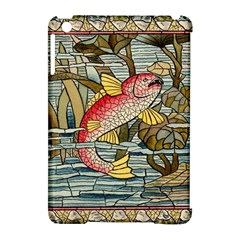 Fish Underwater Cubism Mosaic Apple Ipad Mini Hardshell Case (compatible With Smart Cover) by Celenk