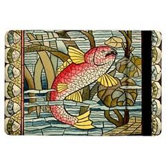 Fish Underwater Cubism Mosaic Ipad Air Flip by Celenk