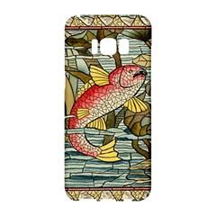 Fish Underwater Cubism Mosaic Samsung Galaxy S8 Hardshell Case  by Celenk