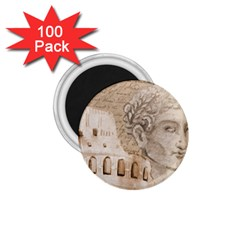Colosseum Rome Caesar Background 1 75  Magnets (100 Pack)  by Celenk