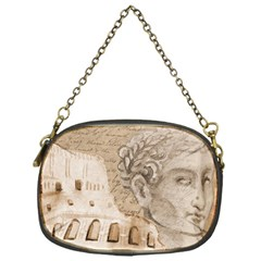 Colosseum Rome Caesar Background Chain Purses (one Side)  by Celenk