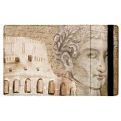 Colosseum Rome Caesar Background Apple Ipad 3/4 Flip Case by Celenk