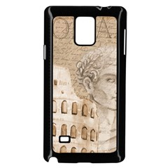 Colosseum Rome Caesar Background Samsung Galaxy Note 4 Case (black) by Celenk