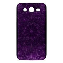 Background Purple Mandala Lilac Samsung Galaxy Mega 5 8 I9152 Hardshell Case  by Celenk