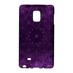 Background Purple Mandala Lilac Galaxy Note Edge by Celenk