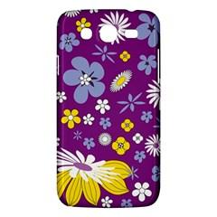 Floral Flowers Samsung Galaxy Mega 5 8 I9152 Hardshell Case  by Celenk