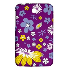 Floral Flowers Samsung Galaxy Tab 3 (7 ) P3200 Hardshell Case  by Celenk