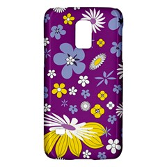 Floral Flowers Galaxy S5 Mini by Celenk