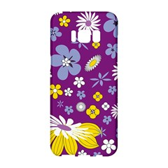 Floral Flowers Samsung Galaxy S8 Hardshell Case