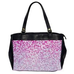 Halftone Dot Background Pattern Office Handbags by Celenk