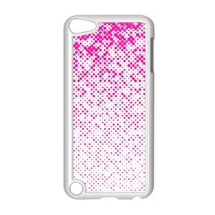 Halftone Dot Background Pattern Apple Ipod Touch 5 Case (white) by Celenk